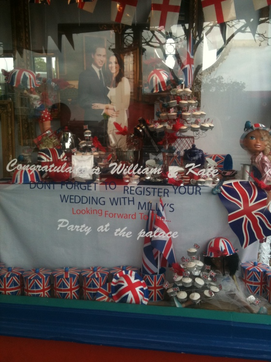 Royal wedding in NZ - milly's kitchen store