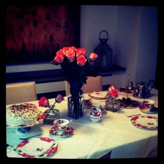Vintage Tea Party Afternoon
